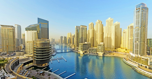Dubai Marina District, UAE